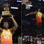 NBA》灌籃大賽 猶他爵士密契爾勇奪冠軍