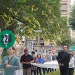47社團周六遊行紀念二二八 主張還原歷史、邁向轉型正義