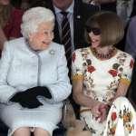 91歲首次看秀》英國女王出席倫敦時裝周 頒獎感謝新銳設計師貢獻