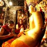 釋迦牟尼親自加持》拉薩大昭寺火災 12歲佛陀等身像完好無缺