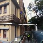 反年改團體清晨突襲立法院 繆德生墜樓影片曝光