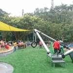 綠油油景觀、無障礙空間、複合式沙坑……萬芳4號公園共融遊戲場落成!