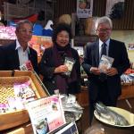陳菊率團訪千葉房之驛 交流農業六級產業化