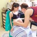 【影音】懷孕的女人最美!大馬網紅親手幫老婆製作肚膜紀錄懷孕的體態美!