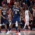 NBA季後賽》鵜鶘踢館2連勝到手 拓荒者季後賽絕對劣勢
