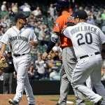 MLB》太空人鬧大烏龍 水手演出本季首次三殺守備