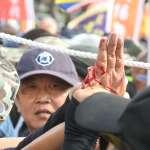 反年改衝突退役上校遭「斷指」 妻子泣訴:為救3警察才出意外