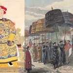 全城戒嚴灑黃沙、迎娶隊伍超過1千人!英國記者8張畫,紀錄清末「皇帝大婚」奢華怪象…