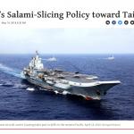 「別讓北京繼續對台灣切香腸!」美國智庫:川普政府應制衡中國擴張,戰略核心就是強化台灣