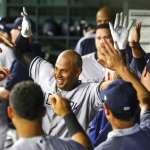 MLB》洋基棒子開無雙 連3場都4轟破紀錄