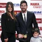 歐足》超越C羅成就 梅西5獲歐洲金靴獎