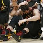 NBA東冠》愛神再度傷退 半場過後仍未離開休息室