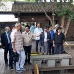 林佳龍邀法日學者踏勘舊城 共尋鐵道活化及都市再生策略