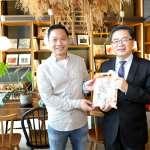 參訪設計青旅 李孟諺盼更多優質業者進駐台南