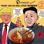 火箭人捲餅、川金會漢堡、峰會冰茶!美朝峰會在即,新加坡餐廳推「川金會特餐」