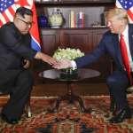 川金會》三度微笑握手、互動氣氛融洽,金正恩告訴川普:「我克服萬難來了」