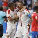 世足賽果》E組:科拉羅夫超遠定位球破門,塞爾維亞1分帶走勝利