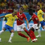 世足賽果》E組:瑞士展現強大纏鬥韌性,下半場追平踢和巴西