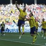 世足賽果》F組:瑞典世界盃12年來首次進球 1比0擊敗南韓