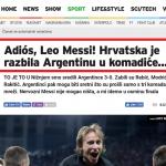 世足》克國媒體酸梅西 教頭:阿根廷弄斷自己牙齒3次