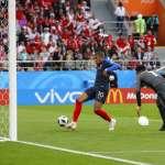 世足賽果》C組:法國1比0淘汰祕魯,晉級世界盃16強