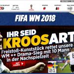 世足賽果》F組:克魯斯絕殺射門,德國升天瑞典崩潰