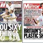 世足》英格蘭大勝點燃英媒希望 《鏡報》:相信我們