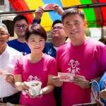 台中中市長選戰》胡志強為盧秀燕站台:民進黨執政 水果都爛了」