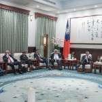 蔡英文:台灣願意與中國對話 但絕不在壓力下屈服