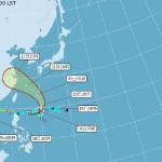 颱風安比形成 周末影響台灣天氣