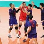 排球》5局大戰逆轉泰國 中華男與哈薩克爭4強門票