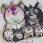 二胎化準備鬆綁?中國豬年郵票現「三隻小豬」引發網友瘋狂討論