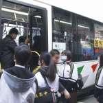 中市火車轉乘公車免費10/1上路 鼓勵搭乘大眾運輸