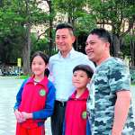 新新聞》林智堅散步五公里  與市民黃昏約會