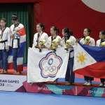 亞運》跆拳道品勢女子組團體 為中華隊添一銅