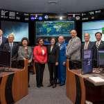 蔡英文訪NASA 太空人讚嘆從太空看台灣很美