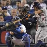 MLB》阿土伯即將回歸 盼太空人能止跌回升