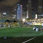 新加坡民眾把握最後機會道別李光耀