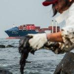 漏油貨輪殺了北海岸!油污擴散 環境恢復至少要3年