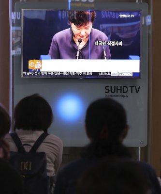 南韓「親信門」風暴