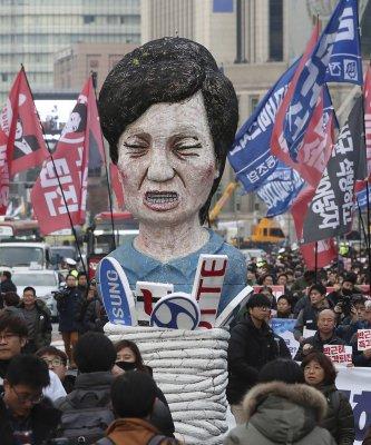 朴槿惠危機