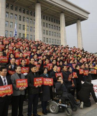 彈劾朴槿惠,今天表決!