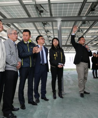 竹市安裝太陽能專法出爐 林智堅:推動太陽光電「第三枝箭」