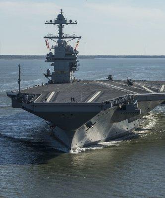 「當她出現在地平線上,盟友安心、敵人發抖」地表最強航空母艦「福特號」正式服役