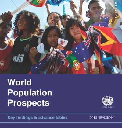 《世界人口展望:2015年修訂版》報告。(翻攝聯合國官網)