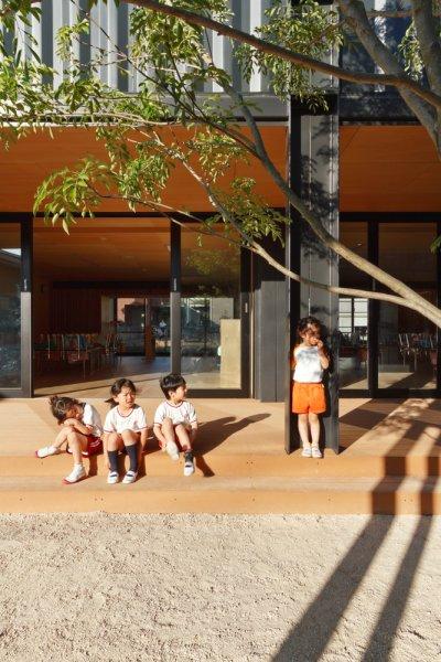 透過設計團隊的用心,城市孩子也可以和自然走得很近。