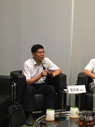 國立臺灣大學公共衛生學院教授詹長權。(陳耀宗攝)