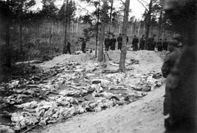 波蘭,蘇聯,卡廷大屠殺,納粹德國。(維基百科)
