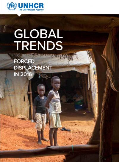 聯合國難民署發佈的《全球趨勢報告》(Global Trends report)。