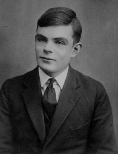 16歲的圖靈。(wikipedia/public domain)